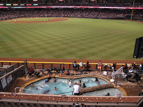 see the pool/spa at ballpark. where is the ballpark ?