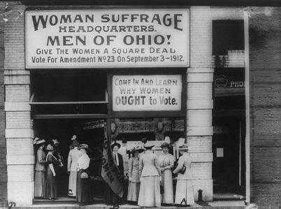 In what year did American women win the right to vote?