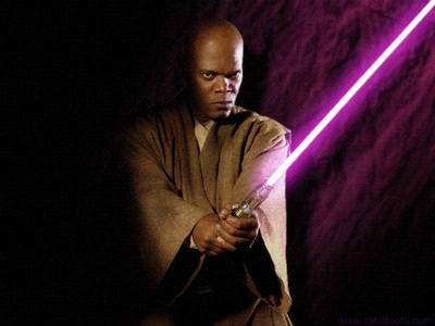 Who cuts of Mace Windu's arm?