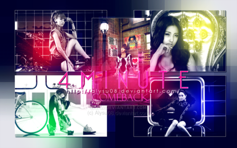 What is 4Minute debut song?