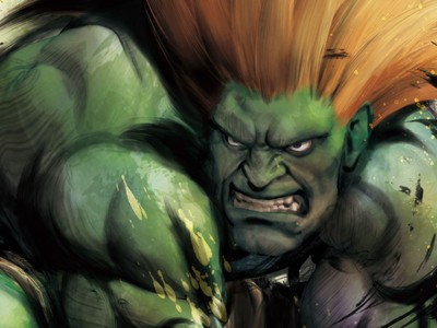 Who is Blanka's rival in Street Fighter 4?