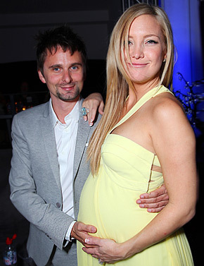 what's the name of her second son with Matt Bellamy?