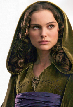 What is the name Padme obtained at birth?