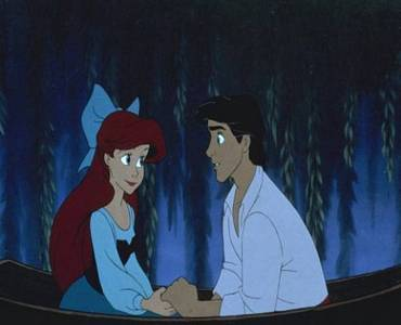 What three names did Eric say when he was guessing Ariel's name?