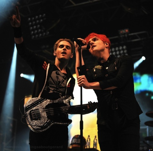 What are Gerard and Mikey's parents names?
