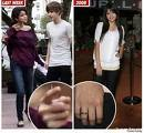 did selena take off her purity ring for justin?