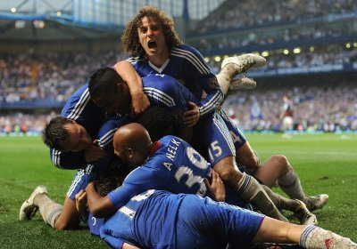 When Torres scored his first goal with chelsea?????
