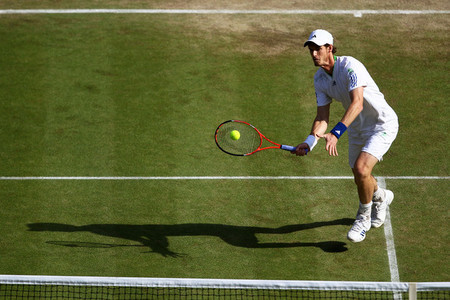 Who knocked Murray out of Wimbledon in 2011?