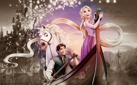 What country does Tangled (Rapunzel) take place?