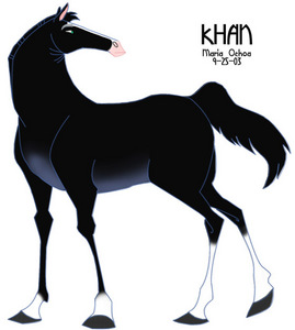 who's Horse is Khan?