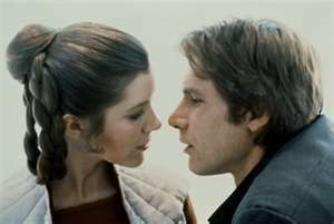 What year did Han Solo and Princess Leia Organa get married?