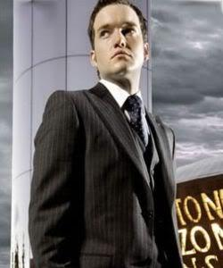 Which of the following does Ianto say his father did to him when he was a boy?
