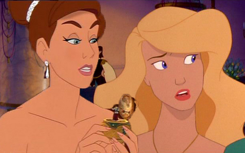 Which Disney Princess shares a pag-awit voice with the non-Disney princesses Anastasia and Odette? (Sequels included)