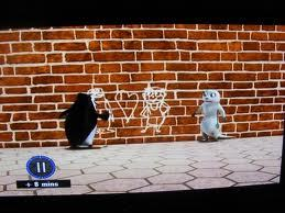 why skipper draw marlene in tường not arlene <or kitka>?