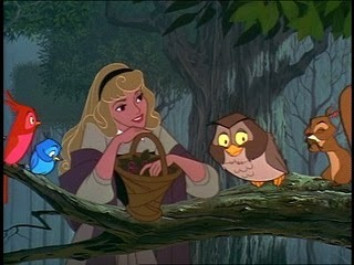Which princess finds it abnormal to speak to animals?