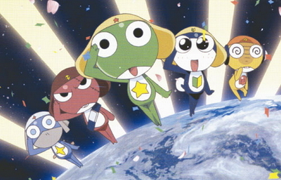 Who was the third Keroro platoon member to appear?