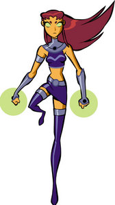 what is starfire's sister's name?