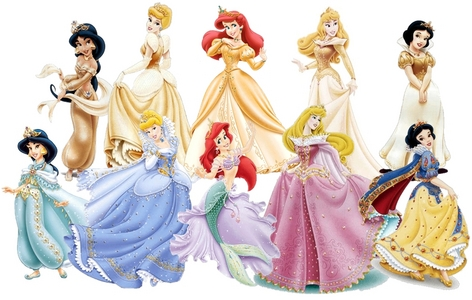 Which princess almost has her man stolen by other women?  (Not just limited to the original movies)