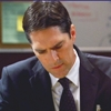 Ep:1x05-Broken Mirror- In one scene Hotch is having a conversation with his wife Haley. What are they talking about?