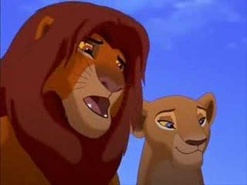 What in the last thing Simba tells Kiara after she went to play?