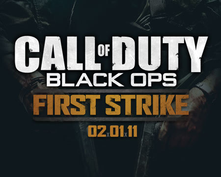 "Which map is in the map pack; ""The First Strike""?"