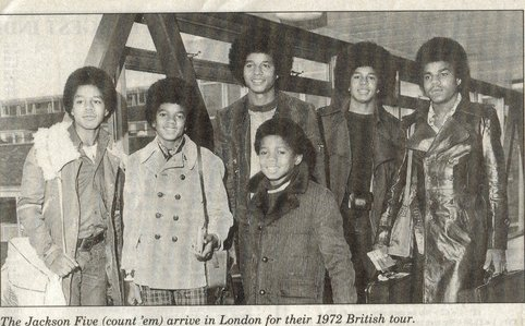 when did the jackson 5 first introduce randy to the world?