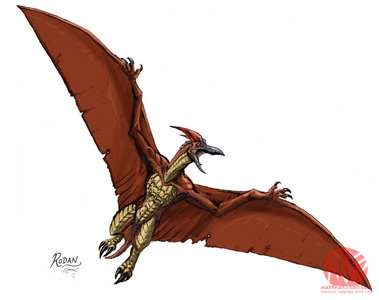 How many phim chiếu rạp has Rodan appeared in?