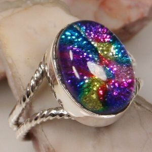 This ring was made of...