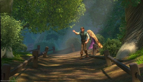 TANGLED: How many caballos outside the pub?