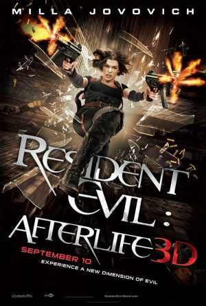 Who portrayed Chris Redfield in Resident Evil: Afterlife?