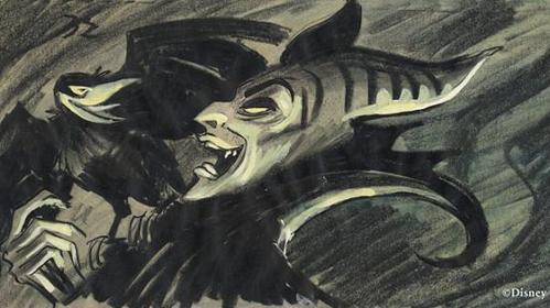 This is concept art of which DP villain?