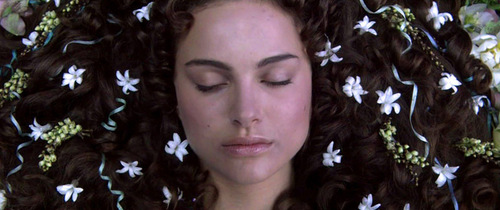In Naboo,Where was Padme laid to rest?