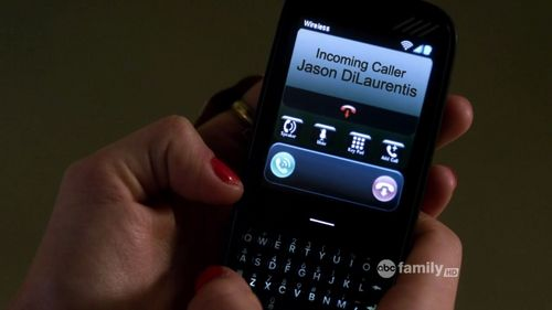 Save the Date episode: Aria rejected Jason's call while she&Ezra was talking in the hospital. Whose name did she said the call was from when Ezra asked?