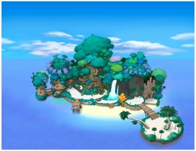 What games can wewe actually play on destiny islands?