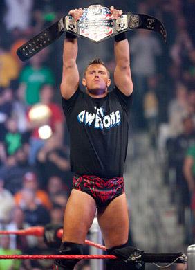 What title is The Miz holding???