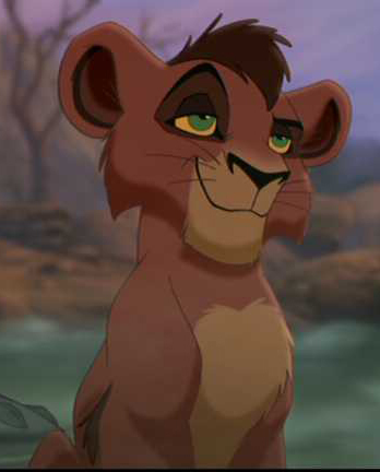 Who voiced Kovu as a cub?