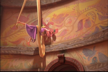 What were the three 本 that Rapunzel reads during, 'When will my life begin?'