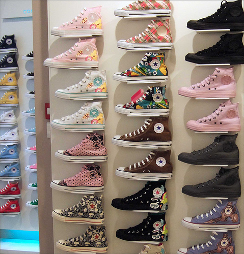 how many pairs of Converse are there?
