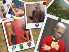 Which sim doesn't have more than one lover?