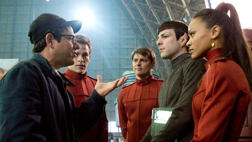 True or False: Director J.J. Abrams said that Star Trek is, in a way, secretly a movie about Spock.