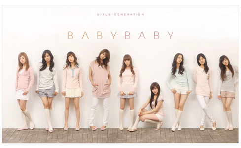 SNSD's song [Baby Baby]was released in