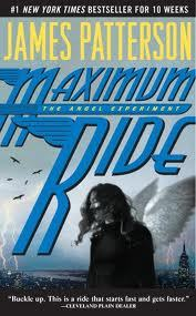 How many pages are in the first book of the Maximum Ride series?