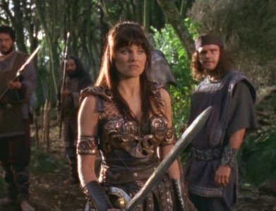 """In """"The Reckoning"""", who knocked out Xena with a shovel?"""