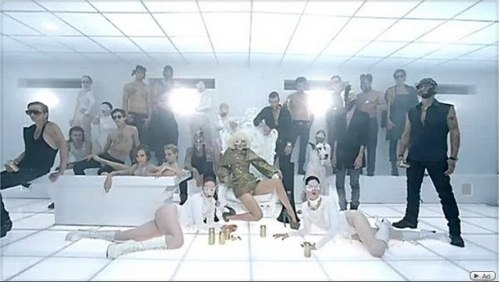 "What breed of cat appears in ""Bad romance""?"