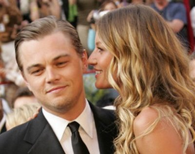 She dated Leonardo DiCaprio on which year to what year?