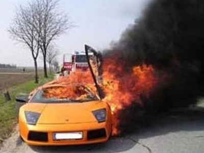 Edward is dying in this Lamborghini, true or false?
