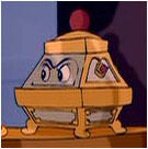 This Music Box is from Beauty and the Beast and his role was originally going be..