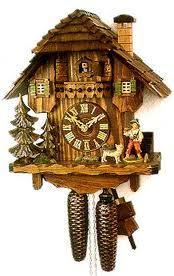 HP3:POA: the Dursleys own a cuckoo clock.