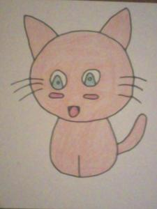 Who drew this kitten