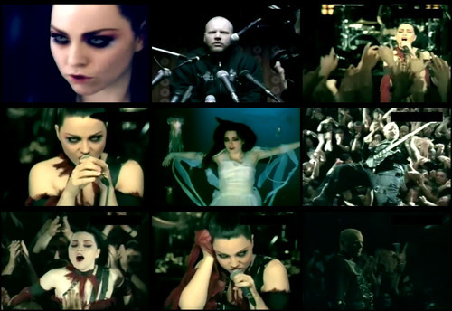 which song par Evanescence?